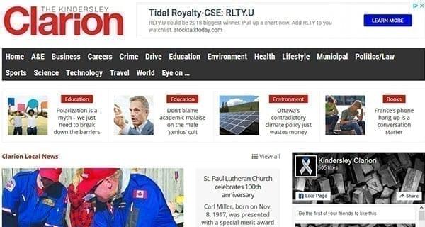 community news site